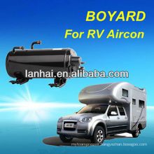CE RoHS Auto Air Conditioning Horizontal Rotary Compressor for RV Caravan Air Conditioning camping tent air conditioner