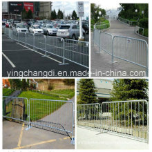 Professional Manufacturers Hot DIP Galvanizing Used Crowd Control Barrier