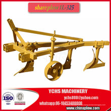 Share Plough Compacted to Tractor Share Plough