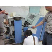 Machine à fabriquer des fils de laine d'alpaga