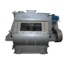 2m3 Twin Shaft Paddle Mixer untuk Dry Mortar