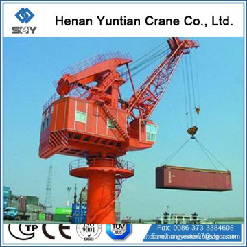 Electric Travelling Portal Container Lifting Crane, Portable Jib Crane