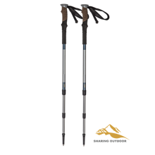 Manufacturer of for Foldable Alpenstock Hiking Cane  Ultra Light Carbon Fiber Kit supply to Seychelles Suppliers