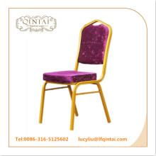 Silla al por mayor de la boda de la silla del banquete del hierro de la promoción