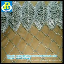 Factory Direct Qualität pvc-beschichtete Kette Link Zaun für Residenz Schutz