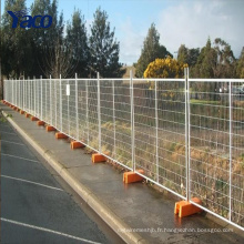 Hengshui cheap1.8mm 2mm hauteur préfabriqués panneaux de clôture temporaire pliant barrière clôture mobile