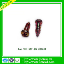 Cross Recessed Round Head Self Tapping Screw