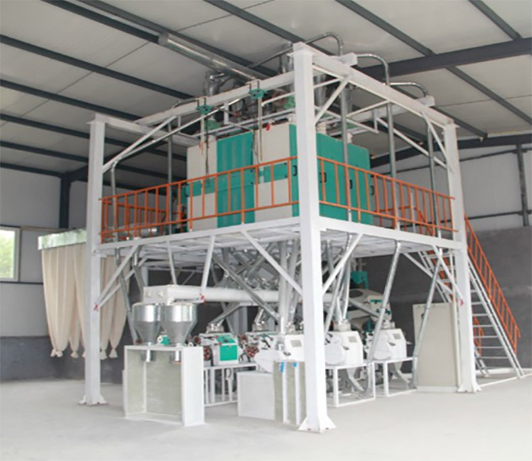 40t flour mill equipment