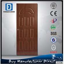 Teak Wood Designer Entry Security Steel Metal Iron Entrance Exterior Door