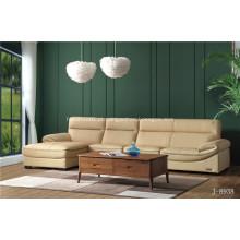 Conjunto de sofá de couro genuíno