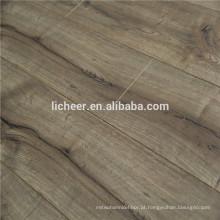 Fabricantes de pisos laminados na China indoor imitated flooring de madeira / fácil click laminado piso