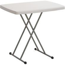 Venta al por mayor mesa de plástico personal ajustable, mesa portátil