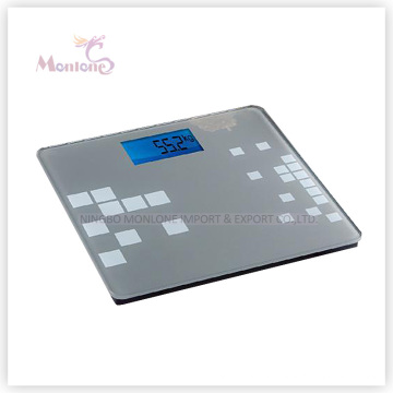 180kg ABS Glass Electronic Weight Scale (31*30*2cm)