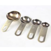Cuillère à mesurer en acier inoxydable 6 pièces empilable