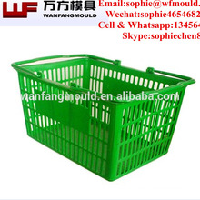 2017 china OEM plastic fish basket moulds with high quality plastic injection fish basket mould product/Fish Basket Moldings