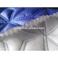 Tissu de vêtements d'hiver, brodé tissu pour patchwork, tissu de veste/vêtement