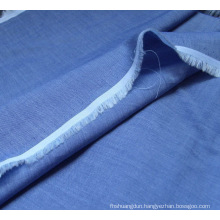 Chambray Poly/Cotton Shirting Fabric