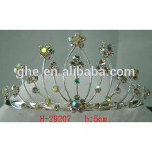 crown and tiara crown chair rhinestone tiaras for girls plastic crown