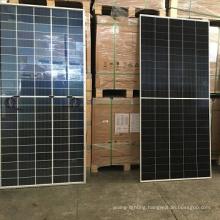All white panel 375W/ Trina Class B 9BB/monocrystalline half cell /1 pallet 10 panels/ solar renew panel energy cell