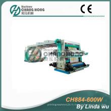 Machine à imprimer Flexo à 4 sacs couleur PP (CH884-600W)