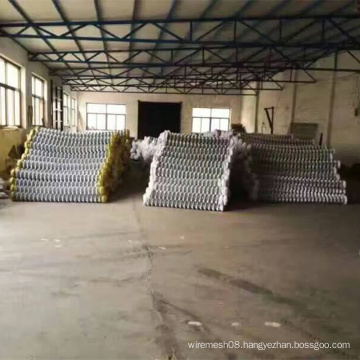 Electro Galvanized Chain Link Mesh Fence