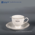 Custom Design Coffee Cup Plate Set, Bone China Coffee Cup And Saucer Set