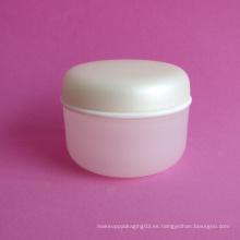 45ml doble pared jarra cosmética con cierre