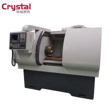 preiswerte kleine CNC-Drehmaschine für Nichteisenmetalle CK6432A