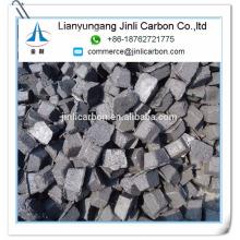 pasta de electrodo de soderberg de calidad superior de Elkem / briquetas de pasta de electrodo de carbono / cilindro para ferroaleaciones