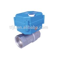 CWX-25S elecreic válvula de bola manejar control y eléctrico para tratamiento de agua