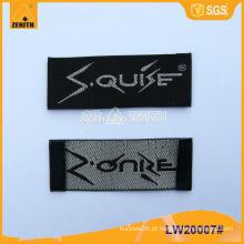 Etiquetas de vestuário tecido LW20007