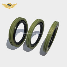 Carbon filled ptfe seal for hydraulic use