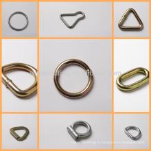 usine directe à fente unique anneau en D