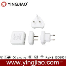 5V 1.2A Variable Power Adapter and Changeable AC Plug