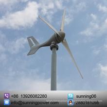 Стабильный 300 Вт 3 лезвия мини ветровой турбины