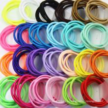 Девочки 4мм резиновый эластичный веревки кольцо резинки для волос (JE1506)