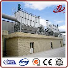 Collecte de poussière Réservoir de gaz soufflage d'impulsions filtre à sac de poussière Ciment