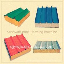 QJ automático cnc 980 sandwith linha de produção de painéis