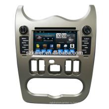 """Горячая! Производитель в Android 6.0 6.2"""" Автомобильный DVD-плеер Аудио для Рено Логан/Сандеро/Дастер 2015-2016 с USB памяти SD карты GPS навигатор ОЕМ"""