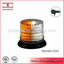 Multitensão 12W Amber branco magnético levou Strobe Beacons