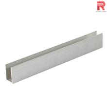 Perfis de extrusão de alumínio / alumínio para quadro de luz de anúncio
