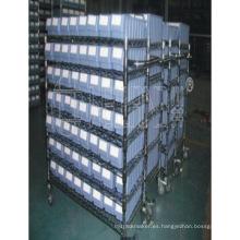 Fábrica industrial del estante del estante del alambre del cromo industrial resistente