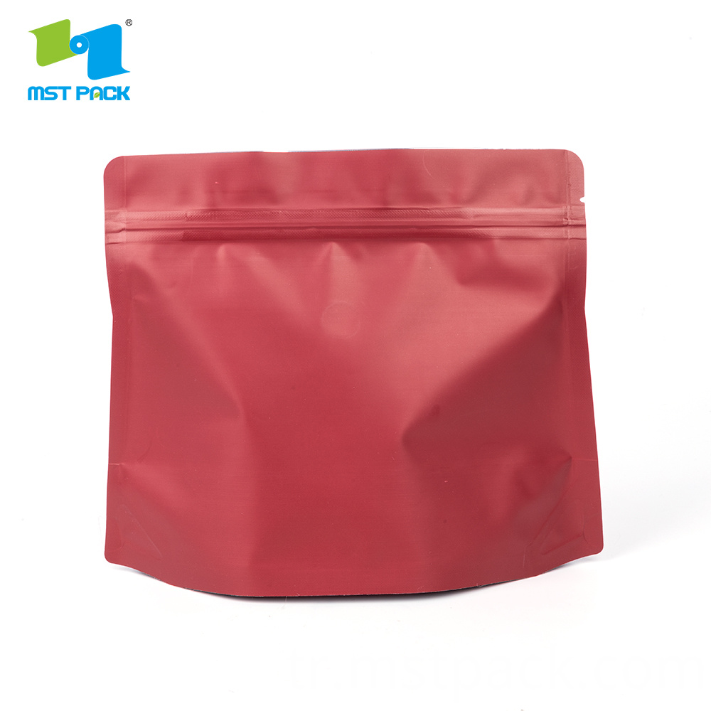 Printing Diamond Stand Up Pouch.