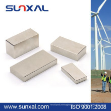 Sunxal strong power and large sintered neodymium magnet