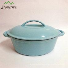 24cm Gusseisen Pfanne, Gusseisen Sauce Pot
