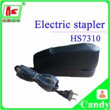 Черный электрический седельный степлер, быстрый степлер, забавные степлеры