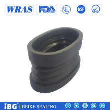 custom molded durable silicone rubber bellows corrugated pipe