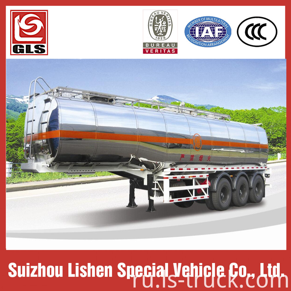 Alluminum Alloy Semi Trailer