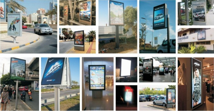 Street digital LED Videowall