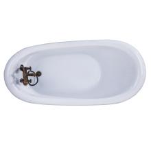 Cupc Antique Clawfoot High Quality Acrylic Classic Bath Tub